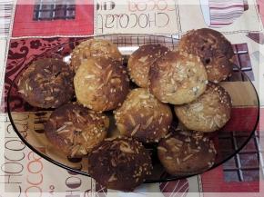 Muffins a les perles dexocolata