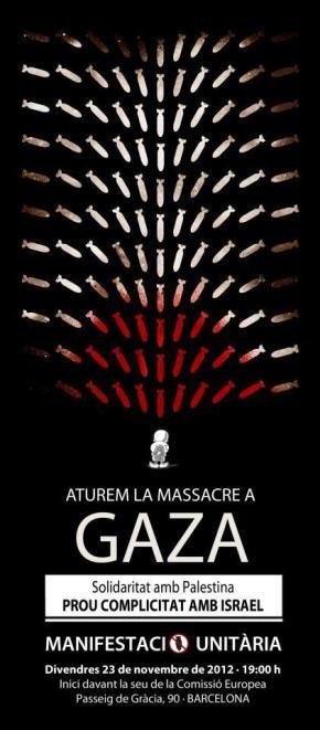 Aturem la massacre aGaza!