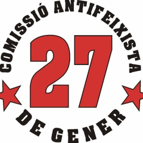 Manifest Comissió Antifeixista 27 deGener